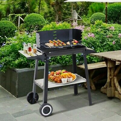 $ CDN68.93 • Buy Charcoal BBQ Grill Trolley Barbecue Patio Outdoor Garden   📦FAST DISPATCH📦