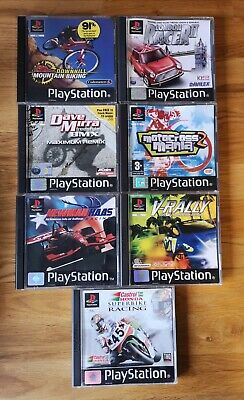 £19.99 • Buy Sony Playstation PS1, Racing/Driving Games, Joblot With Cases, Booklets & Tested