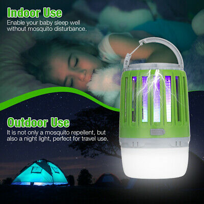 £12.99 • Buy Electric UV Light Insect Killer Trap Tent Lamp Mosquito Fly Bug Zapper Catcher