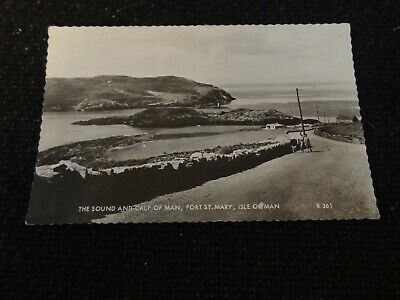 £4 • Buy The Sound And Calf Of Man Port St Mary Isle Of Man Postcard - 41086