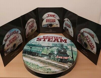 £7 • Buy British Steam Railway DVD Box Gift Set With 10 Dvds -used- Nice Condition