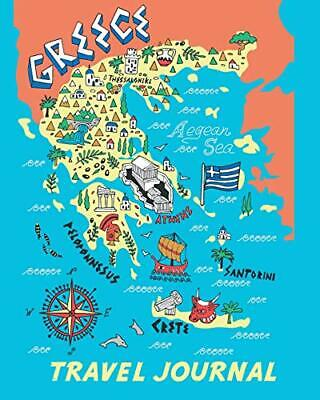 £5.10 • Buy Travel Journal: Map Of Greece. Kid's Travel Journal. Simple, Fun Holiday Acti.