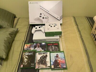 AU132.83 • Buy Xbox One S 500gb + 2 Controllers + 6 Games