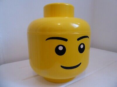 £13.50 • Buy Lego Small Storage Head With Some Lego & 4 Figures