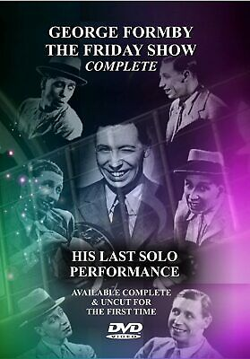 £4.99 • Buy George Formby The Friday Show Complete His Last Solo Performance Dvd