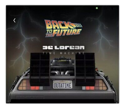 $297.97 • Buy Back To The Future DeLorean Common VeVe App NFT 3D Digital Collectible