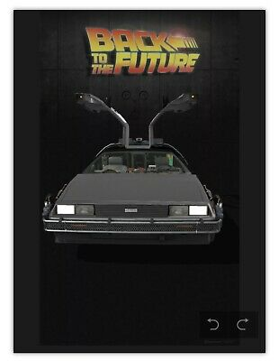 $297.97 • Buy Back To The Future DeLorean Common VeVe App NFT 3D Digital Collectibles