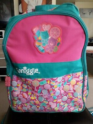 £12.99 • Buy Smiggle Pull Along Case, Suitcase, Backpack, Light Up Wheels, Hand Luggage, Bag