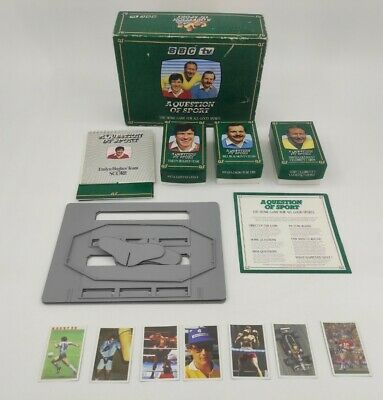 £449.99 • Buy A Question Of Sport Board Game Collectable Tyson, Maradona, Senna, Rookie Cards