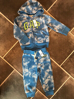 £13.50 • Buy Brand New! Baby Boy Gap 2 Piece Joggers & Hoody Outfit, 18-24 Months