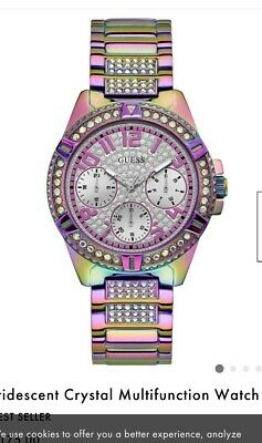 $ CDN194.89 • Buy GUESS Iridescent Watch See Photos For Details