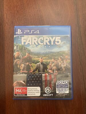 AU12.50 • Buy Far Cry 5 PS4 - Like New - Papers Included