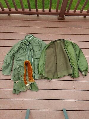 $65 • Buy M65 Jacket With Artic Hood And Custom Liner