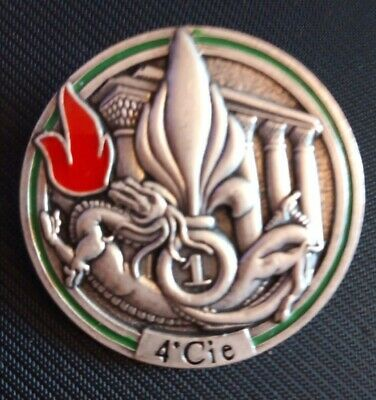 £25 • Buy French Foreign Legion Badge - 1st R.E.G. 4th Compagnie Combat Engineers