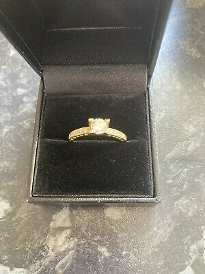 £160 • Buy Diamond Solitare Engagement Ring 18 Ct Gold