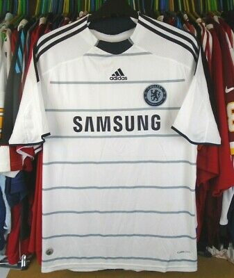 £28.99 • Buy CHELSEA 2009-2010 AWAY Adidas FOOTBALL SOCCER SHIRT JERSEY TOP LARGE ADULT