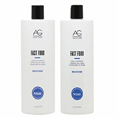 £41.12 • Buy AG Fast Food DUO Sulfate-Free Shampoo 33.8 Oz & Conditioner 33.8 Oz