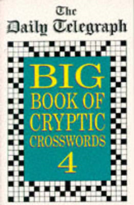 £5.99 • Buy  The Daily Telegraph  Big Book Of Cryptic Crosswords 4,  The Daily Telegraph , U