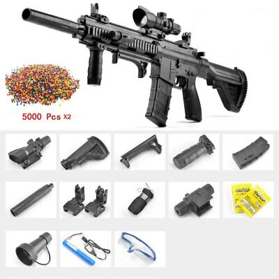 $100.99 • Buy M416 Electric Automatic Rifle Water Bullet Bomb Gel Sniper Gun Toy Pistol Weapon