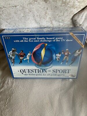 £78.99 • Buy *RARE RETRO* A Question Of Sport BBC Quiz Board Game From 1994 Brand New Sealed