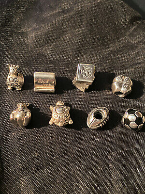 AU2.58 • Buy *Mixed Lot Of 8 Authentic Pandora Charms