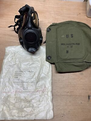 $39.99 • Buy U.S. Military M17 Gas Mask With Bag Size Medium