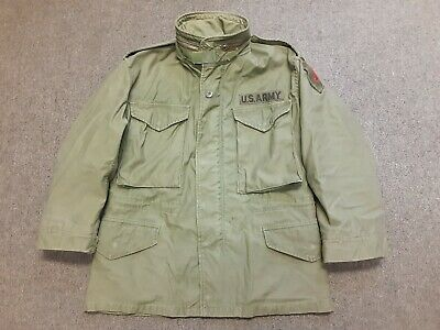 $29.99 • Buy VTG 80s US Army Military M65 Cold Weather Field Coat Jacket OG107 XS X-Short