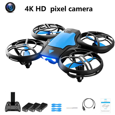 AU54.55 • Buy 2021 NEW Mini Drone RC Nano Quadcopter Best Drone For Kids And Beginners AU