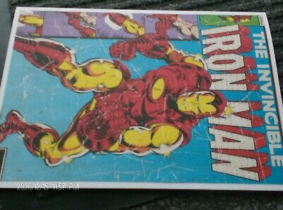 £1.65 • Buy Handmade Invincible Iron Man Birthday Card For Boy With Verse Newly Finished