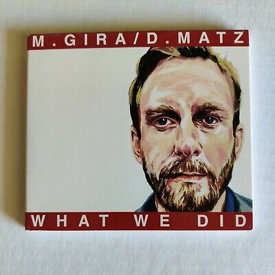 $5 • Buy What We Did By M. Gira / D. Matz (CD 2001) SIGNED By Michael Gira (Swans Pigface