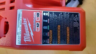 $35.99 • Buy NEW Milwaukee M12 M18 Battery Charger 48-59-1812 Lithium Li-Ion Multi-Volt W/bag