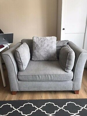 £160 • Buy NEXT Home Snuggle Chair - Grey