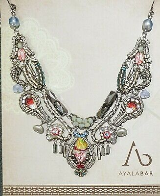 £170 • Buy Ayala Bar Silver Odyssey Necklace Classic Collection With Box