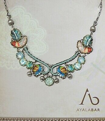 £100 • Buy Ayala Bar Electric Velvet Emporium Small Necklace Radiance Collection With Box
