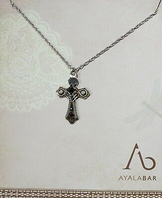 £39 • Buy Ayala Bar Cross Small Pendant Classic Collection With Box