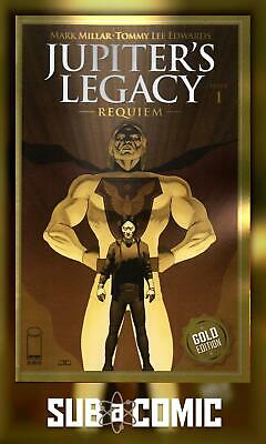 £6 • Buy Jupiters Legacy Requiem #1 Thank You Variant (image 2021) 1 Per Store! Comic