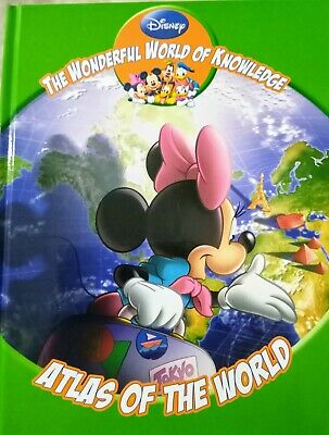 £1.75 • Buy DISNEY THE WONDERFUL WORLD OF KNOWLEDGE - Atlas Of The World Book