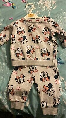 £0.99 • Buy Disney Minnie Mouse Tracksuit 0-3 Months