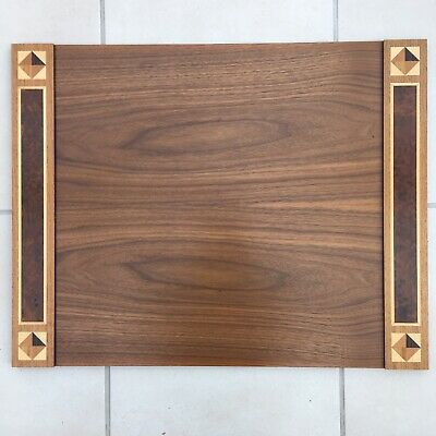£875 • Buy David Linley Wooden And Marquetry Inlaid Desk Blotter - Used