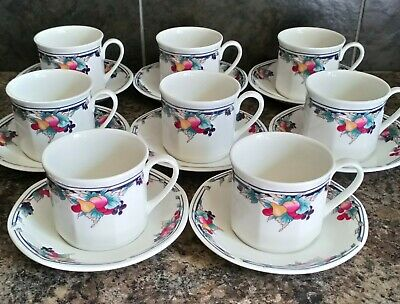 £7.99 • Buy Royal Doulton Fine China ~   Autumn's Glory   8 Cups & Saucers  Ls.1086