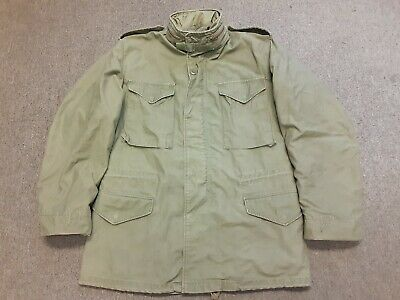 $29.99 • Buy VTG Alpha Industries US Army Military M65 Cold Weather Field Jacket OG107 M Long