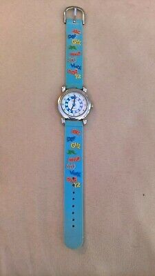 £3 • Buy Boys Watch Good Condition Working  With Alphabet Strap Early Learning Watch