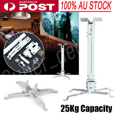 AU24.98 • Buy Universal Projector Ceiling Mount Bracket Fr LCD DLP Stand Extendable Load 25kg