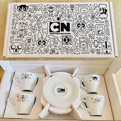 £49.99 • Buy Rare Promotional Collectible Cartoon Network Expresso Coffee Set Power Puff