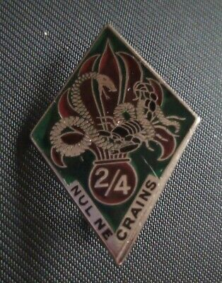 £20 • Buy French Foreign Legion Badge - 4th R.E.I. 2nd Battalion C.1937