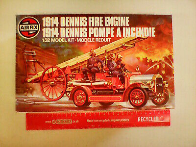 £15 • Buy Airfix 1914 Dennis Fire Engine 1:32 Scale Construction Kit - New, Old Stock