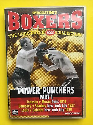 £2 • Buy DeAgostini Boxers DVD Collection - Power Punchers Part 1