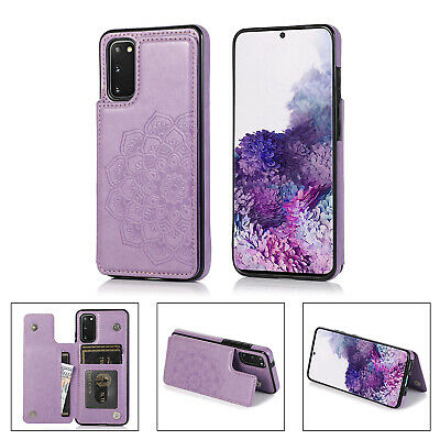 AU9.99 • Buy Samsung Galaxy S10 Lite S20FE A51 Case Magnetic Flip Leather Wallet Cards Cover