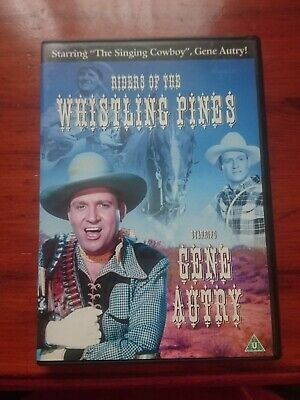£1.99 • Buy Riders Of The Whistling Pines (DVD, 1949) Gene Autry