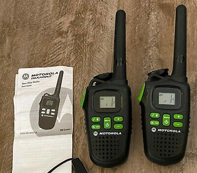 £32.59 • Buy Motorola Talkabout Two-Way Radio KEM-ML36801A With Charger & Instructions